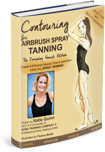 Contouring for Airbrush Spray Tanning by Katie Quinn