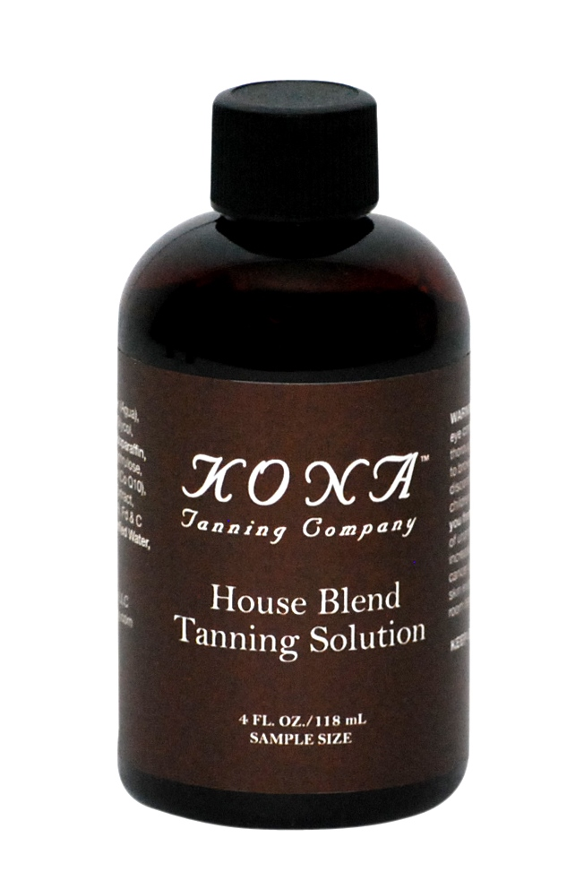 Sample The Kona Tanning House Blend Tanning Solution  Products Made by Sunless Tanners for Sunless Tanners